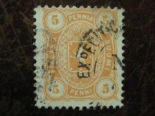 Finnland Mi.-Nr. 13Bya gest., orange !