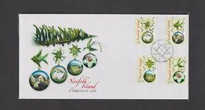 NORFOLK ISLAND 2006 Christmas FDC Per Scan