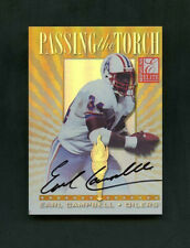 1999 Earl Campbell Donruss Elite Passing The Torch On-Card Auto /100* Oilers
