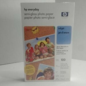 HP Everyday Glossy Photo Paper - Q5440AC - 100 Sheets - 4 x 6 in