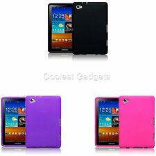 For Samsung Galaxy P6800 Tab 7.7 Flexible Rubber Skin Case Cover