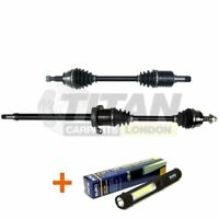 Fits Mercedes A B Class CVT Auto Driveshaft Front Left and Right Side + Lamp