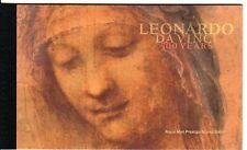 DY28  2019 LEONARDO DA VINCI 500 YEARS PRESTIGE STAMP BOOK