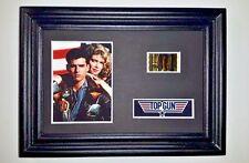 TOP GUN Framed Movie Film Cell Complements poster dvd book navy pilots