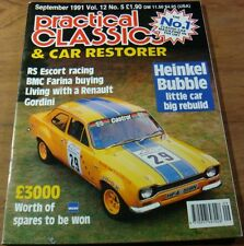 Practical Classics CAR Restorer.RS ESCORT Racing.Bubble