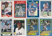 Lot of 14 Sammy Sosa Cards $24+ Book Value w/ 7 rookie RC 1990 Leaf Chicago Cubs