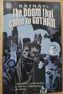 Batman: The Doom That Came To Gotham TPB Trade Paperback Mike Mignola