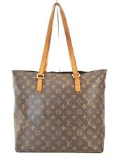 Authentic LOUIS VUITTON Cabas Mezzo Monogram Shoulder Tote Bag Purse #39164