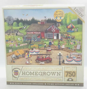 Master Pieces Homegrown Country Pickin's 750 Piece Linen Jigsaw Puzzle