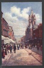 "Raphael Tuck & Sons ""OILETTE"" Postcard  7223 KING STREET Huddersfield"