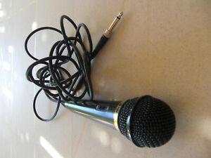 MICROPHONE DYNAMIC VOCAL SONY F-V310 - NOIR - TBE