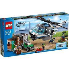 LEGO CITY 5-12 ANNI ELICOTTERO SORVEGLIANZA 60046 RARO NUOVO FUORI PRODUZIONE
