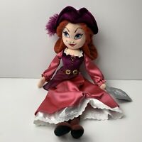 "Disney Parks Pirates Of The Caribbean Red Plush Doll 19"" NWT"