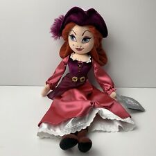 """Disney Parks Pirates Of The Caribbean Red Plush Doll 19"""" NWT"""