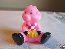 Little Pig Piggy CORN eating BIB wearing Cake Topper by Bakery Crafts  People