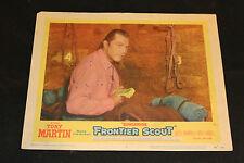 1956 Quincannon Frontier Scout Lobby Card 56/78 #3 Tony Martin (C-4)