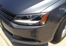 11-16 Jetta head light eyelid overlays eye brows Metallic Gray graphics pre-cut