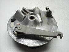 Yamaha DT125 DT 125 Enduro #4244 Front Brake Backing Plate / Panel / Assembly