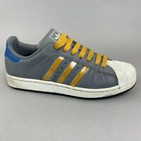 Adidas Superstar Low Top Sneakers Leather Trainers Shoes Size UK7