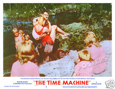 THE TIME MACHINE LOBBY SCENE CARD # 4 POSTER 1960 YVETTE MIMIEUX  ROD TAYLOR