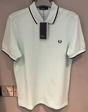 **Fred Perry : Twin Tipped Shirt ( M - Slimmer Fit ) Del La Mar