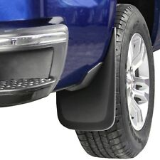 Silverado Mud Flaps 2014-2018 Mud Guards Splash Guards Molded 2 Piece Rear Set