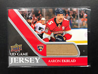 2020-21 UPPER DECK AARON EKBLAD UD GAME JERSEY ! PANTHERS 🐆 🏒🔥👍❗️