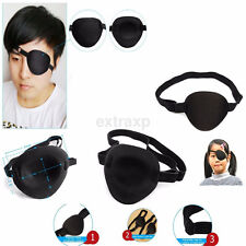 Useful Black Medical Use Concave Eye Patch 3D Foam Groove Eyeshades For Lazy Eye