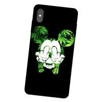 Weed leaf smoke cannabis Case cover iPhone 5 6 6S 7 8 + X XR XS 11 Pro Max SE2