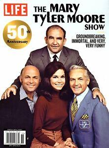"LIFE Magazine ""THE MARY TYLER MOORE SHOW"" ~ 50th Anniversary ~ Betty White ~ NEW"