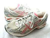 ASICS GT 2150 Womens Gel Support Running Shoes Size 10 T054N Pink/Silver/White