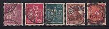 Gestempelte Briefmarken aus dem deutschen Reich (1919-1923) als Posten & Lots