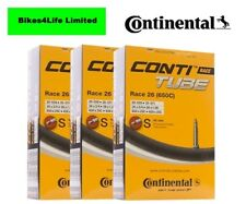 CONTINENTAL RACE 26 (650c) INNERTUBE 26 X 1.0 / 42mm PRESTA QUANTITY OPTION