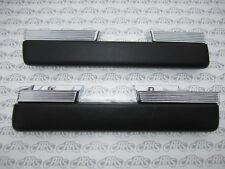 1963 1964 Buick Riviera Chrome Arm Rests  | Pair | Correct Grain - Saddle