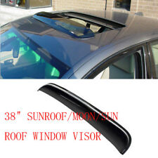 "38"" SUNROOF/MOON/SUN ROOF WINDOW VISOR SHADE/VENT WIND/RAIN AIR/WIND DEFLECTOR"