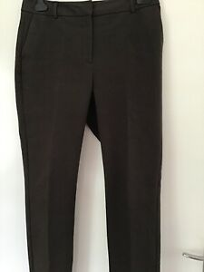 marks and spencer Autograph Size 12 Brown Ladies Trousers