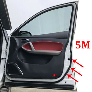 5m Extra Cab Door Seal Upgrade For VW T5 T5.1 T6 Transporter+1.6m Dashboard Seal