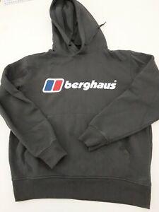 BERGHAUS Hoodie Small hoodie Grey Big Logo