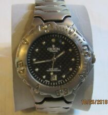 Nice Titanium Croton Watch, Mens F128