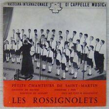 Petits Chanteurs de Saint-Martin 45 tours  Les Rossignolets