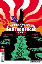 United States vs. Murder Inc. #1A, Jinxworld, Nm 9.4, 1st Print, 2018