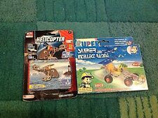 Model Kit Metal Tech Helicopter 31 Pieces New Intellect racing car New