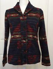Ralph Lauren Womens Blazer Jacket Size Medium Aztec Southwest Tribal Button