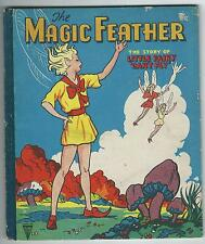 """The Magic Feather The Story Of Little Fairy """"Can't Fly"""" 1950's Children's Book"""