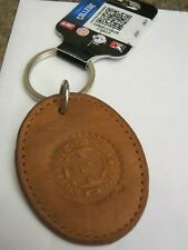 NEW University of Notre Dame Leather Keychain