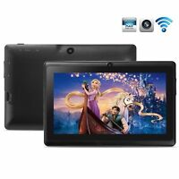 "Black 8GB 7"" Android 4.4 Tablet PC for Kids Children A33 Quad Core Kid MID WiFi"