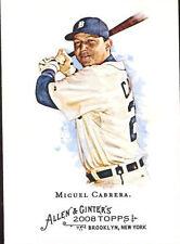 Topps Detroit Tigers Original Miguel Cabrera Baseball Cards