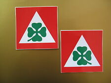 ALFA ROMEO stickers x2