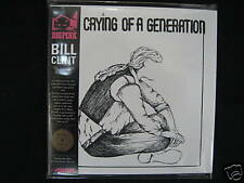BILL CLINT/ THE CRYING OF A GENERATION MINI LP CD NEW