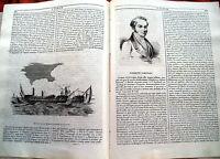 1840 BIOGRAFIA DI CLEMENTE CARDINALI ARCHEOLOGO E LETTERATO DA VELLETRI